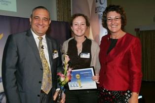 Anita at the Enterprising Women Awards